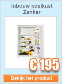 Zanker inbouw koelkast