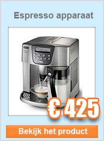 Volautomatisch espresso apparaat DeLonghi