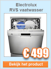 electrolux vaatwasser