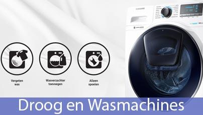 Droog en Wasmachines