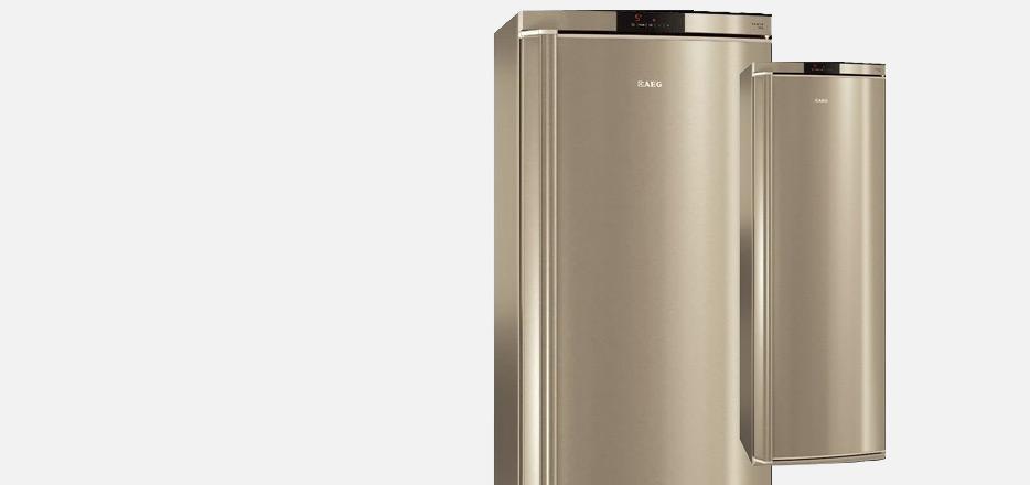 Grote RVS koelkast, zuinig A++